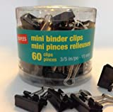 """Best Staples Ink Cartridges - Staples Binder Clips, Mini, 1/4"""" Capacity, 3/5"""" Size Review"""