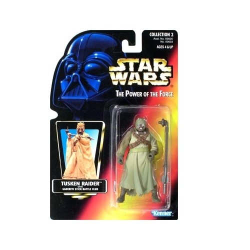 Star Wars: Power of the Force Red Card Tusken Raider Action Figure (Kenner Action Figures compare prices)