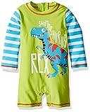 Hatley Baby Boys' Swim Shirt, Roaring T-Rex, 6-9 Months