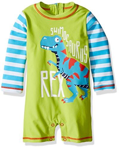 Hatley Baby Boys' Swim Shirt, Roaring T-Rex, 6-9 Months by Hatley