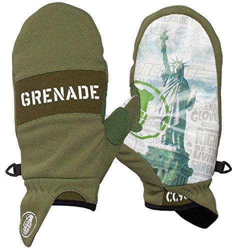 Grenade Men's Pro Posse DK Glove, Large, Army