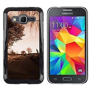 // PHONE CASE GIFT // Duro Estuche protector PC Cáscara Plástico Carcasa Funda Hard Protective Case for Samsung Galaxy Core Prime / Camino Sad /