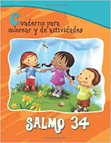 Salmo 34 - Cuaderno para colorear: La bondad de Dios (Capítulos de la