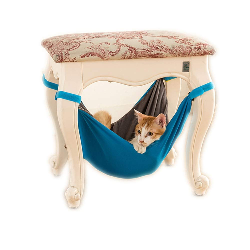 JLFAIRY Pet Cat Hammock Chair Cage Hanging Bed Rabbit Puppy Bed House