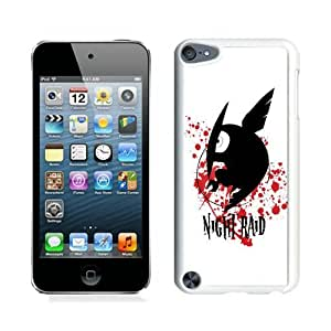 Unique And Durable Custom Designed Case For iPod Touch 5 With Akame ga Kill Night Raid White Phone Case