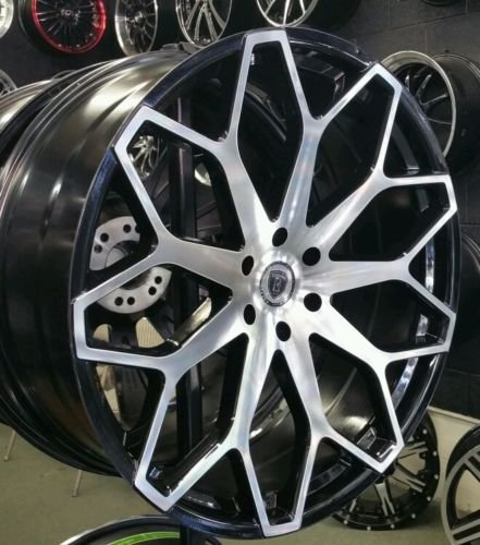 "28"" INCH BORGHINI B28 WHEELS RIMS ONLY FITS CHEVY GMC ..."