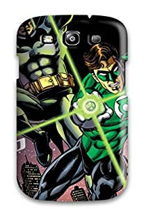 Heidiy Wattsiez's Shop 6867631K92009334 New Style JeremyRussellVargas Hard Case Cover For Galaxy S3- Green Lantern