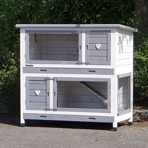 JoyPet.eu Rabbit hutch Kim with anti-chewing 116x65x111cm