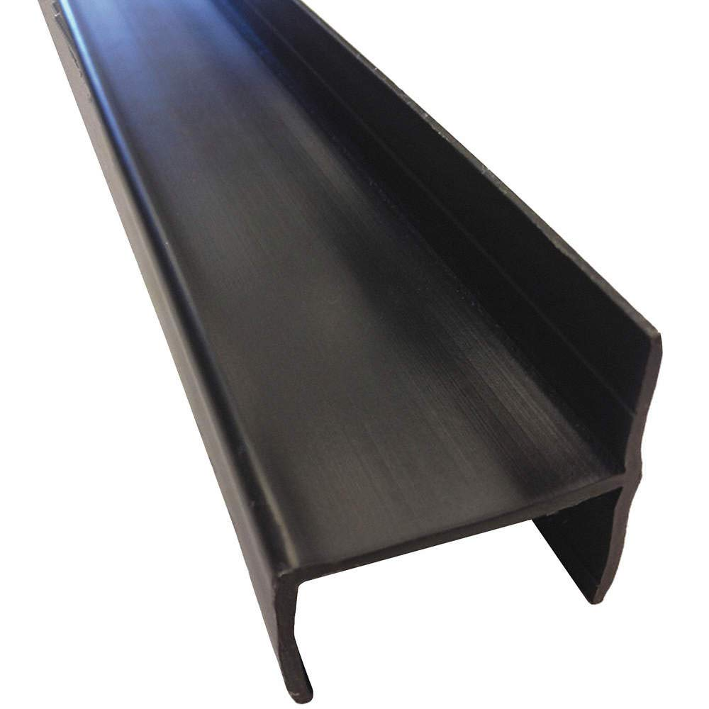 Black Parking Panel Brackets 1-1/2'' Overall Width, 55-1/2'' Overall Length Mfr. Model # PSWC-FL-BL-1400