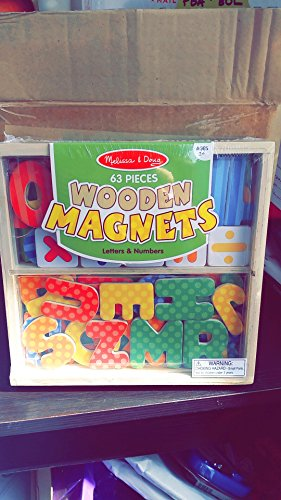 Melissa & Doug Magnets-in-a-box Letters & Numbers