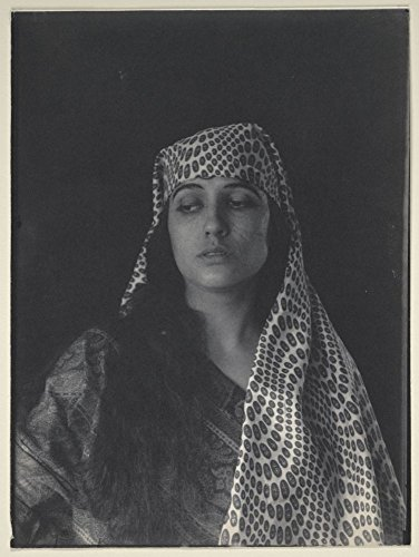 Historic Photos 1895 Photo Woman (Julia Arthur) in Middle Eastern (Salome?) costume