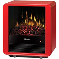 Dimplex DMCS13R Mini Cube Red Gloss Electric Stove
