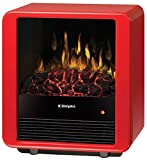 Dimplex Mini Cube Electric Stove, DMCS13R, Red