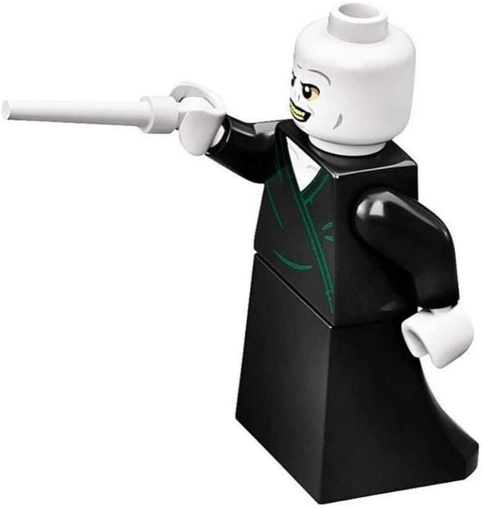 LEGO Harry Potter: Lord Voldemort Minifigure with White Wand
