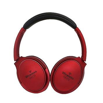 Prom-note Auriculares Bluetooth Hi-Fi Deep Bass Auriculares inalámbricos Cancelación de Ruido Auriculares V4.2 + EDR con micrófono: Amazon.es: Electrónica