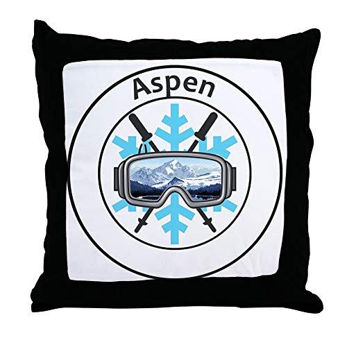 CafePress Aspen/Snowmass Aspen and Snowmass Village Co Decor Throw Pillow (18