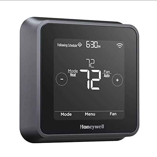 Honeywell RCHT8610WF2006 Lyric T5 Wi-Fi Smart 7 Day Programmable Touchscreen Thermostat with Geofencing, Works with Amazon Alexa-