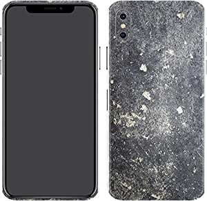 Switch iPhone X Skin Black Clouded Marble