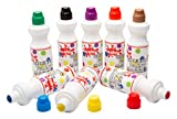 Scola Chubbi 75ml x 8 Paint Markers