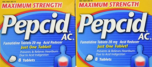 Pepcid Maximum Strength Tablets 8 Count