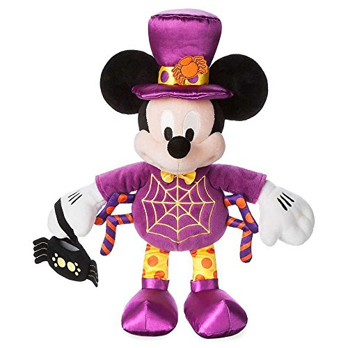 Mickey Mouse Purple Spider Halloween Plush 16 Inches]()