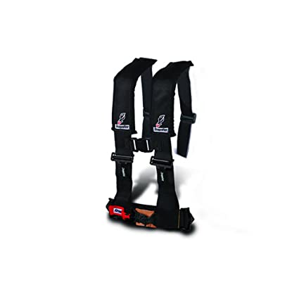 Amazon.com: Dragonfire Racing Black 5-Point H-Style Safety Harness