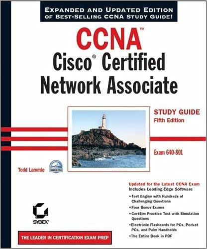 CCNA: Cisco Certified Network Associate Study Guide (640-801)