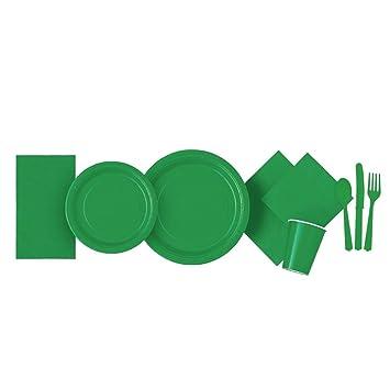 Vajilla Catering – Diadia platos de vajilla de plástico para fiestas de cumpleaños, servilletas para