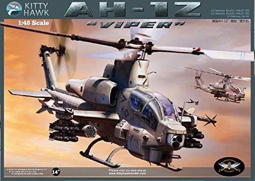 KH80125 1/48 AH-1Z Viper V2 Helicopter Model