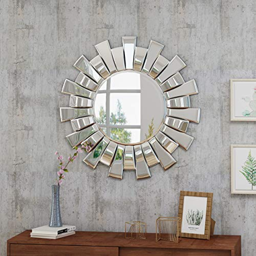 Christopher Knight Home Sunburst Wall Mirror, Gold
