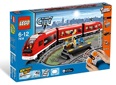 Lego City Passenger Train 7938 by LEGO