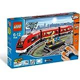 LEGO - 7938 - Jeux de construction - LEGO city - Le train de passagers