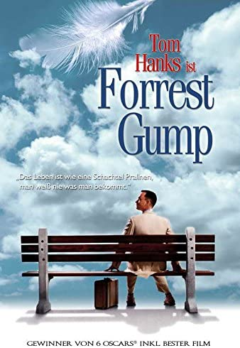 Amazon.com: Forrest Gump Poster Movie (27 x 40 Inches - 69cm x 102cm)  (1994) (German Style A): Posters & Prints
