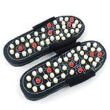 Acupressure Foot Massager - TLT Retail Acupoint Massage Slippers Shoes Reflexology Sandals for Men Women (S/M/L/XL) (M)