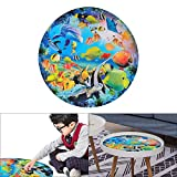 Jigsaw Puzzles 1000 Pieces for Adults Kids, ALLOMN 3D Ocean Dream Palette DIY Round Cardboard Intellectual Games