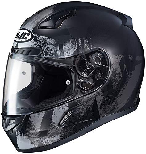 HJC XF-10-0851-2735-09 CL-17 Arica Helmet, Distinct Name: MC-5SF, Gender: Mens/Unisex, Helmet Category: Street, Primary Color: Black, Size: 3XL, Helmet Type: Full-face Helmets (Face 09 Helmet Full)