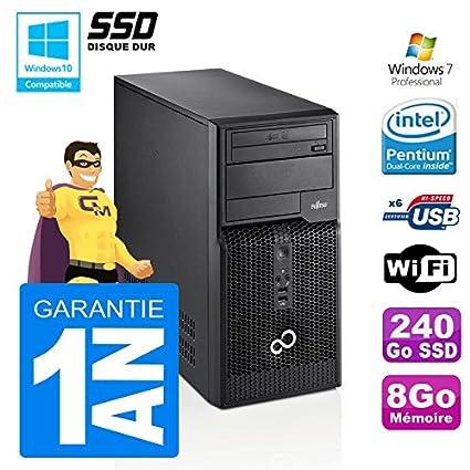 PC Torre Fujitsu Esprimo P400 G630 RAM 8 GB disco 240 SSD WiFi W7 ...