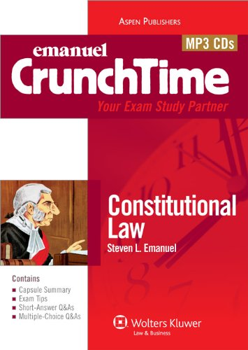 Crunchtime Audio: Constitutional Law 9e by Aspen Publishers