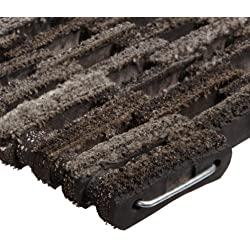"Durable Dura-Rug Recycled Fabric Tire-Link Outdoor Entrance Mat, 20"" x 30"""
