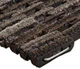 "Durable Corporation 400 Dura-Rug Fabric Tire-Link Entrance Mat, for Outdoors and Vestibules, 20"" Width x 30"" Length x 3/4"" Thickness, Natural"
