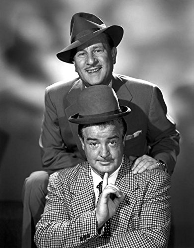 Publicity Photo Abbott & Costello T Shirt Iron On 8 x 10 Photo
