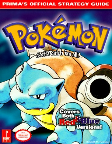 Price comparison product image Pokemon (Blue Cover) (Prima's Official Strategy Guide)