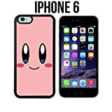 iphone 6 cases kirby - Cartoon Girl Cute Kirby LOL Custom made Case/Cover/skin FOR iPhone 6 - Black - Rubber Case ( Ship From CA)