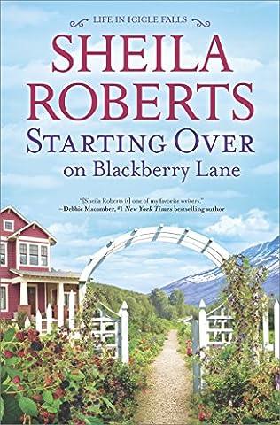 book cover of Starting Over on Blackberry Lane