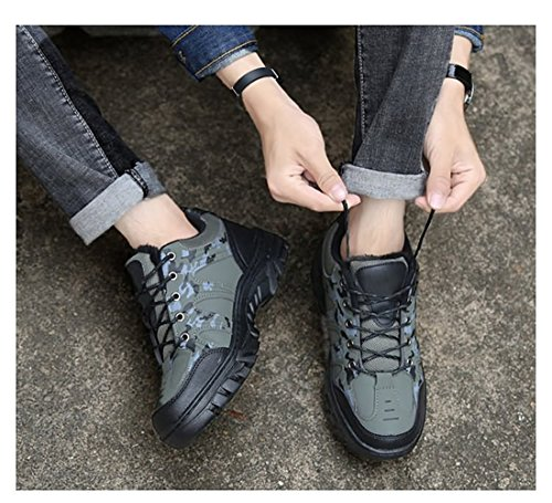 Hiker Waterproof Men's Shoe Green Leather BERTERI Women's Boot Hiking Backpacking and Winter Outdoor FHfwxO