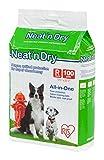 IRIS Neat 'n Dry Premium Pet Training Pads, Regular, 17.5