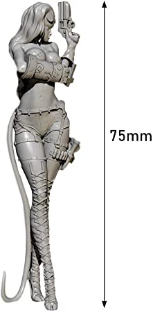 75mm Resin Wing Girl Lady Fantasy Unpainted Unassembled 3643