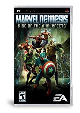 Marvel Nemesis Rise of the Imperfects - Sony PSP