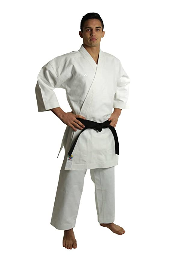 adidas Karate Traje kigai, Weiss: Amazon.es: Deportes y aire ...