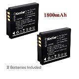 Kastar Battery (2-Pack) for Fujifilm NP-70 NP70 FNP-70 & Fuji FinePix F20, F20 Zoom, F40fd, F45fd, F47fd and Leica D-LUX3, Leica C-LUX 1, Leica D-LUX2, Ricoh Caplio R3, Ricoh Caplio GR Cameras